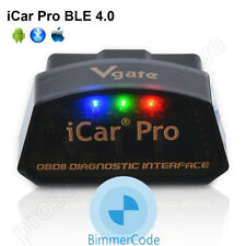 Vgate iCar Pro Bluetooth 4.0 BLE BIMMERCODE Coding iPhone iPad Android OBD2
