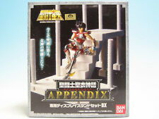 Saint Seiya Myth Cloth APPENDIX Display Stand Set DX Bandai