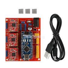 Arduino CNC Shield V4 + Nano V3.0 + 3 xA4988 Reprap Stepper Drivers Kit