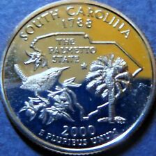 "2000-s  SOUTH CAROLINA STATE QUARTER DOLLAR ""PROOF"" 2000-s San Francisco Mint"