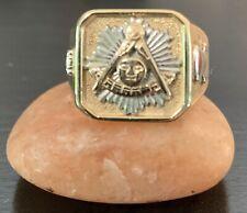 Masonic Past Master Ring