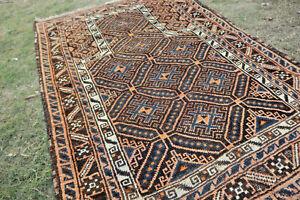 Antique Madad Khani Tribal Prayer Rug,Beautiful Very High Quality Nomad Prayer R