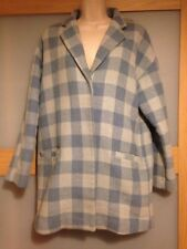 Atmosphere Womens Check Blue Coat Size 12