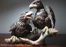 "Boehm ""Young and Spirited"" American Bald Eaglets Porcelain Commemorative- 400-49"