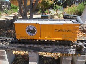 LGB 43672 Lake George & Boulder Boxcar - Steam Sound plus Box