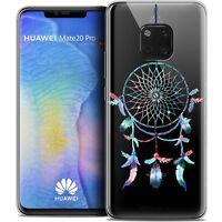 "Coque Gel Pour Huawei Mate 20 PRO (6.4"") Souple Dreamy Attrape Rêves Rainbow"