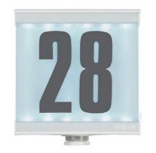 Détecteur de mouvement infrarouge 2en1, numéro de maison éclairé, IP54, Led Neuf