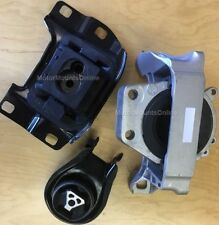 9R1425 3pc Motor Mounts fit 2010 - 2013 2.5L Mazda 3 and 3 Sport and 2.3L Turbo