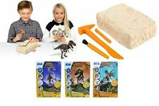 Dr Steve Hunters 91030 Dino Dig Excavation Kit-Velociraptor-27 Pieces 25cm Toy
