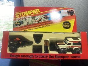 Schaper Stomper 4X4 The Workhorse New In Box Unpunched Datsun White 854 Rare