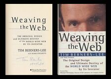TIM BERNERS-LEE Autographed Signed Book Weaving The Web World Wide Web WWW HTTP