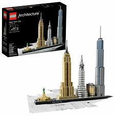 LEGO Architecture New York City Skyline Model Collection Gift Set for Adult Kids