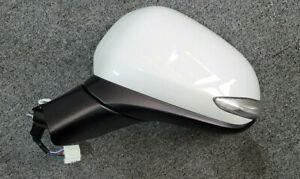 OEM Side Mirror Assy Left 87610-S1000WW2 White for Hyundai Santa Fe 2019~2021