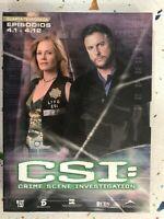 Csi Quarta 4° Stagione 4 - Episodi 4.1 A 4.12 3 X DVD Spagnolo Inglese 3T
