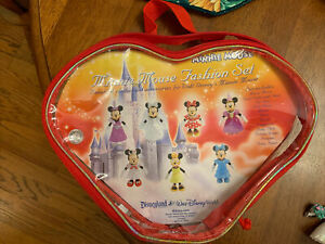 Disney Minnie mouse fashion set clothes accessories  Complete Set Disney World