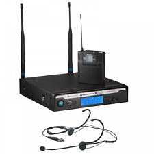Electro-Voice R300 Wireless Belt Pack Radio Mic System + HM-3 Headset  Microphone 7b04943f87659