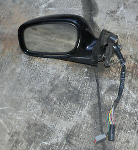 2002 Lincoln Town Car Left Driver Side Power Door Mirror LH Heated Mirror Black