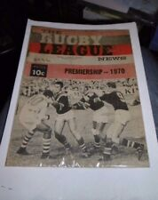 The Rugby League News Volume 51 No. 11 April 11th/12th 1970 Australian Magazine