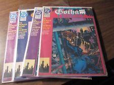 Batman Gotham Nights #1 2 3 4 DC 1992 Comic Book Set 1-4 Mini Series Complete