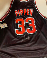 Chicago Bulls Jersey Signed Scottie Pippen 1on 1 Inc