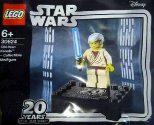 Lego Star Wars 20th Anniversary Obi-Wan Kenobi Collectable Minifigure 30624 BNIP