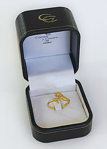 J104- Goldring PANTHER - Carrera y Carrera - 18k Gelbgold - RM53 - mit Schatulle