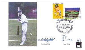 Australia Victor Trumper 2020 Cricket Cover Ltd Edition of 37