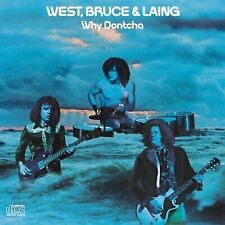 Why Dontcha by West, Bruce & Laing (CD Columbia (USA) NICE USED