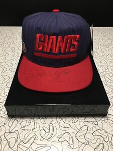 Lawrence Taylor And Phil Simms Autographed/Signed Hat New New York Giants