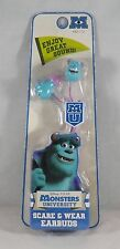 KIDdesigns Disney Pixar Monsters U In-Ear Scare & Wear EarBuds - New - Sully