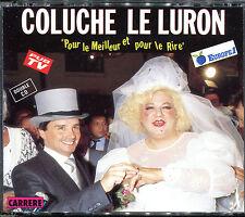 COLUCHE / LE LURON - POUR LE MEILLEUR ET POUR LE RIRE - VERSION DOUBLE CD  [170]