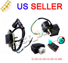 50cc 70cc 90 110cc Regulator Rectifier Relay Ignition Coil CDI Chinese ATV Quad