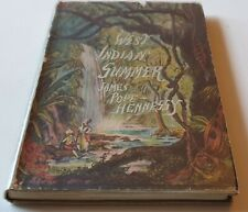 1943 FIRST EDITION WEST INDIAN SUMMER by JAMES POPE HENNESSY HARDBACK