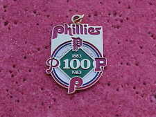 1983 Philadelphia Phillies World Series Media Press Pin CHARM - Balt. Orioles