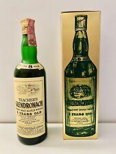 🔴 Glendronach Single Malt Scotch Whisky 8 years bottiglia vintage anni 70