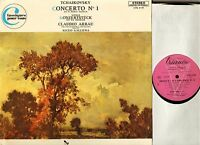 CTRE 6149 ARRAU/GALLIERA tchaikovsky concerto no 1/weber konzertstuck LP EX+/EX