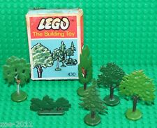 Lego VERY RARE VINTAGE Trees set 430 with Box 1950s!!!