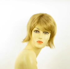 Perruque courte blond doré MARGOT 24B