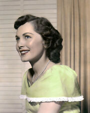 "BETTY WHITE MOVIE STAR HOLLYWOOD ACTRESS 8x10"" HAND COLOR TINTED PHOTOGRAPH"