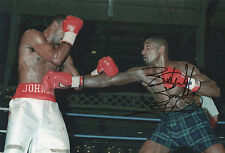HEROL BOMBER GRAHAM Signed In Person 12x8 Photo Proof BOXING Champion Sport COA