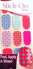Kiss Nails Stick- On Nail Strips Nail Appliques  # 60181 Exposure LTD