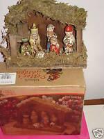 Kirkland's Potter's garden Nativity Mini Ceramic Creche