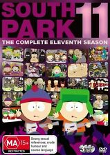 South Park SEASON 11 : NEW DVD (region 4, 3-disc set)
