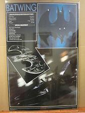 Vintage 1989 DC Comics Batman The batwing poster 2294