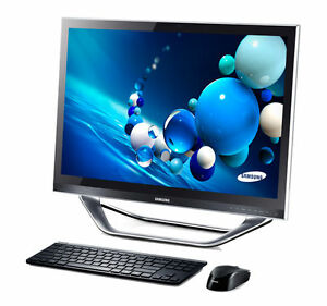"""Samsung DP700A3D 23"""" TouchScreen All-In-One AIO i5-3470 8GB RAM 240GB SSD Win10"""