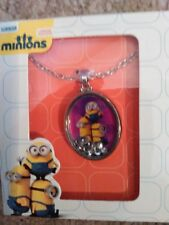 Minions Movie Shaker Pendant Necklace - NEW!!