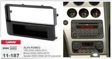 CARAV 11-187 1DIN Marco Adaptador Kit de Radio ALFA ROMEO 159, Brera, Spider 939