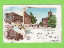 More details for early gruss aus helsingfors helsinki finland suomi pc used 1897 to wien vienna
