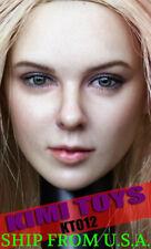 "KIMI KT012 1/6 Blonde Hair Female Head For 12"" PHICEN Hot Toys Figure ❶USA❶"