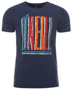 O'Neill LM THE WAVE HERITAGE Herren T-Shirt Freizeitshirt   blau